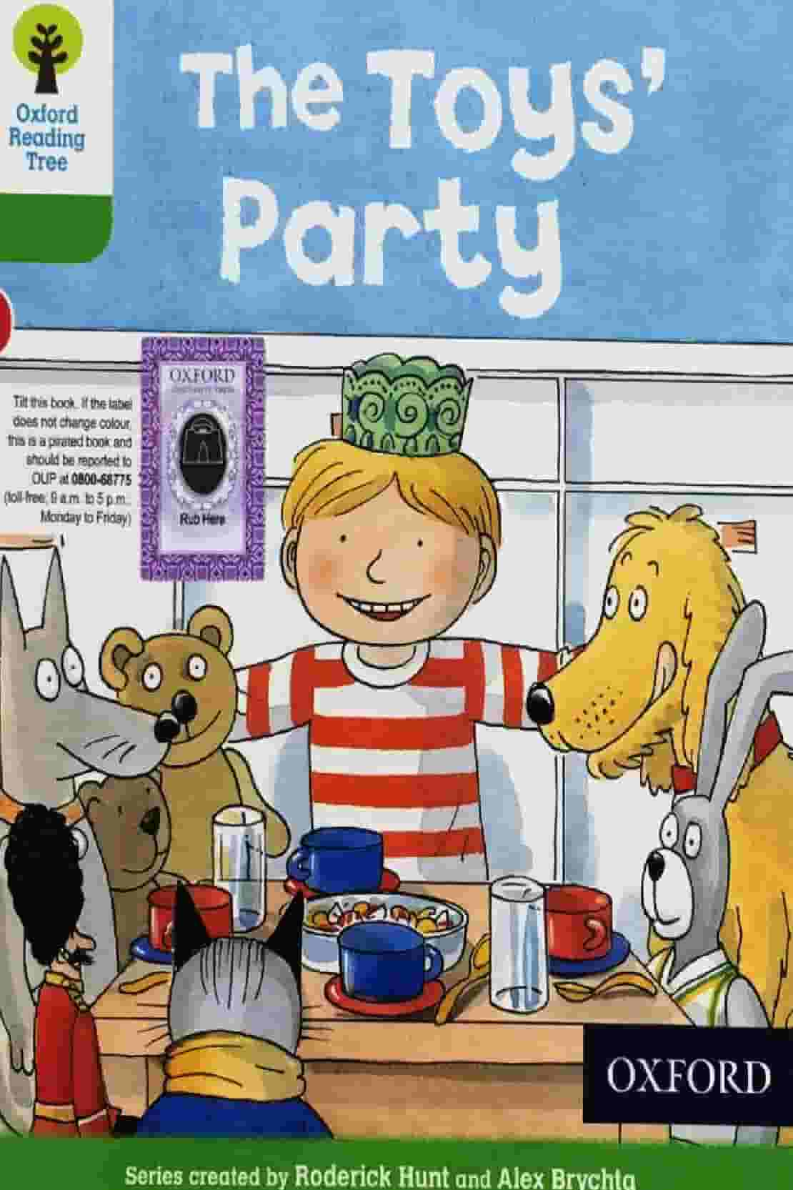 THE TOYS PARTY ORT STAGE 2 BOOK