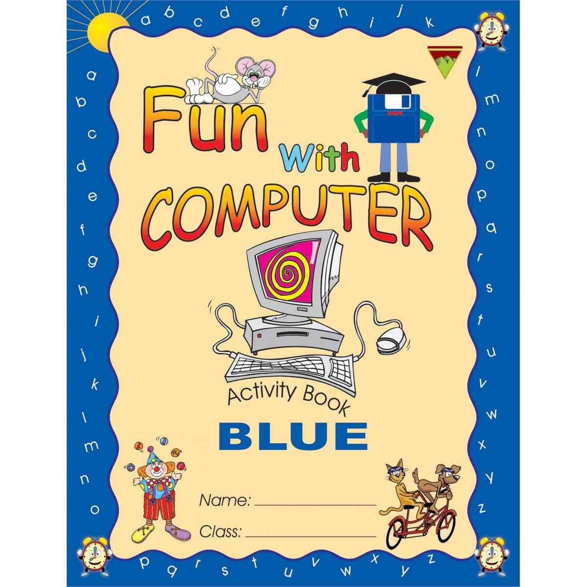 TOP LINE PUBLISHERS Fun With Computer Blue 3