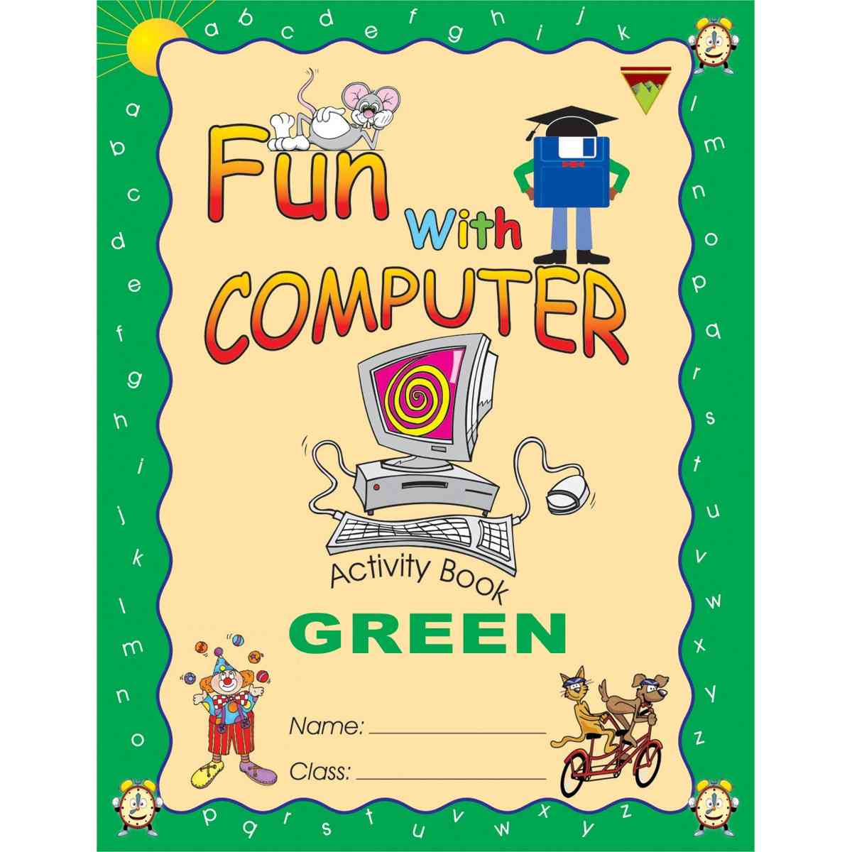 TOP LINE PUBLISHERS Fun With Computer Green  2