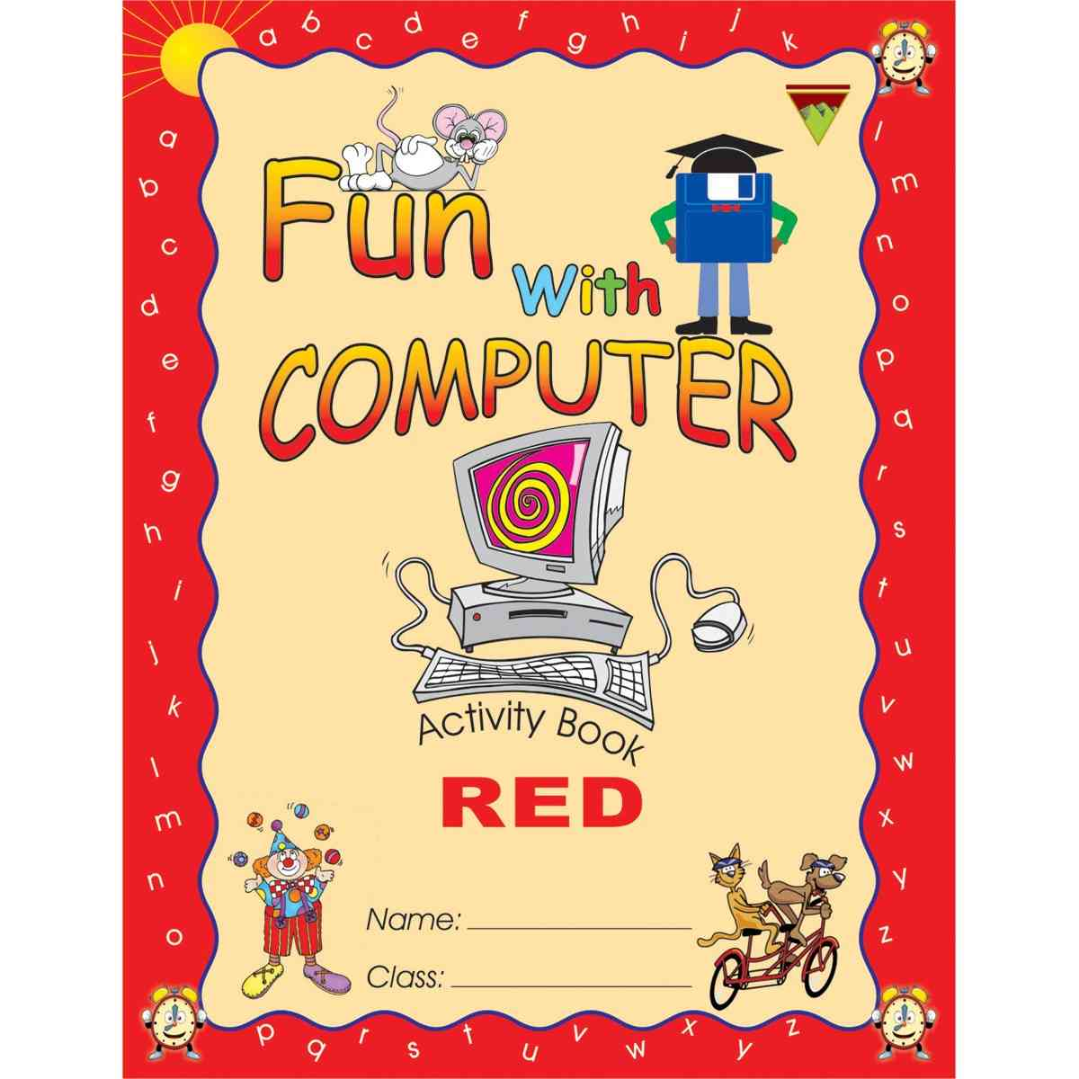 TOP LINE PUBLISHERS Fun With Computer Red 1