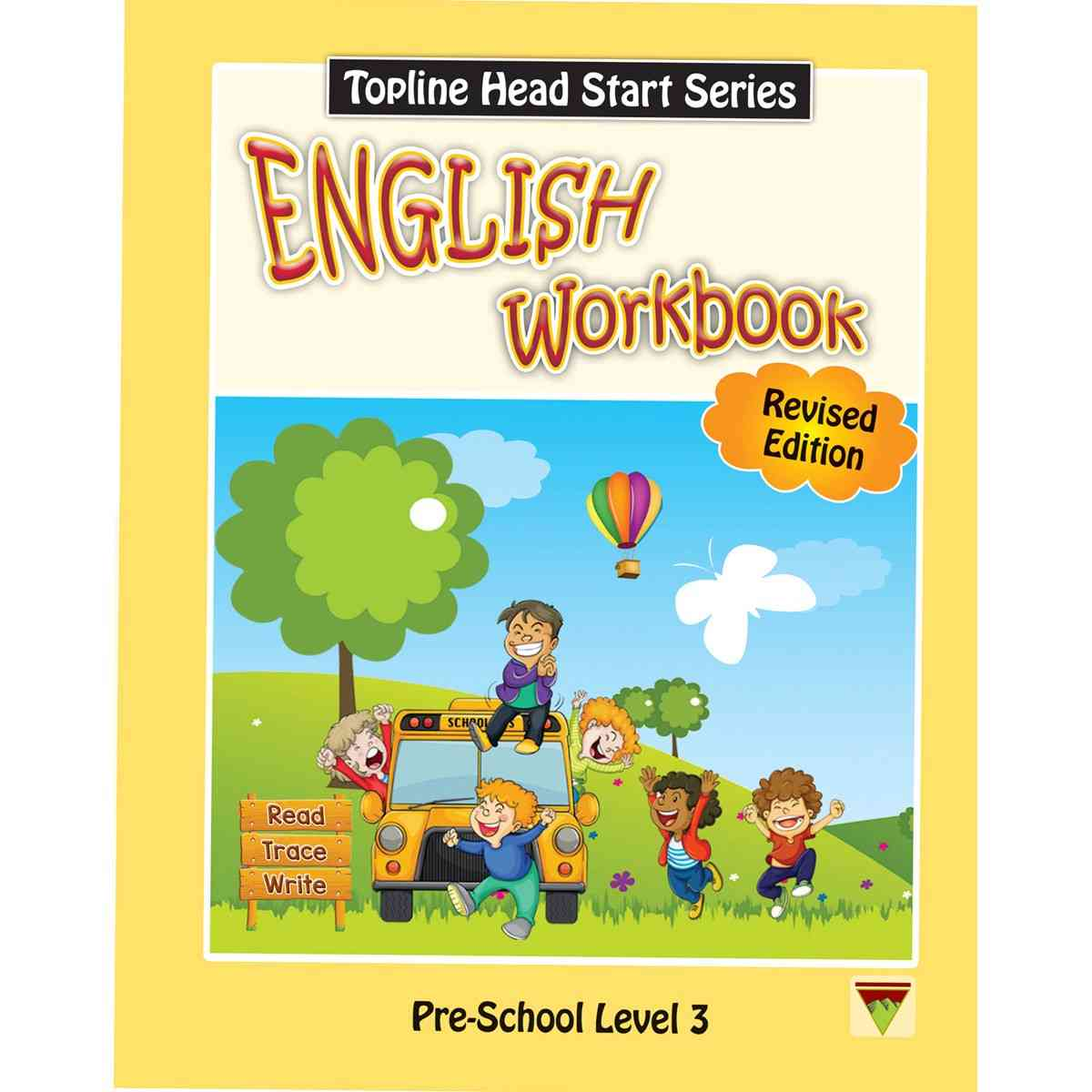 TOP LINE PUBLISHERS Head Start English Workbook Level 3