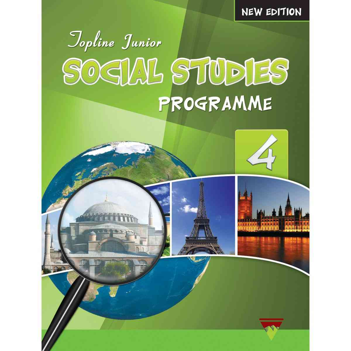 TOP LINE PUBLISHERS Junior Social Studies Book 4