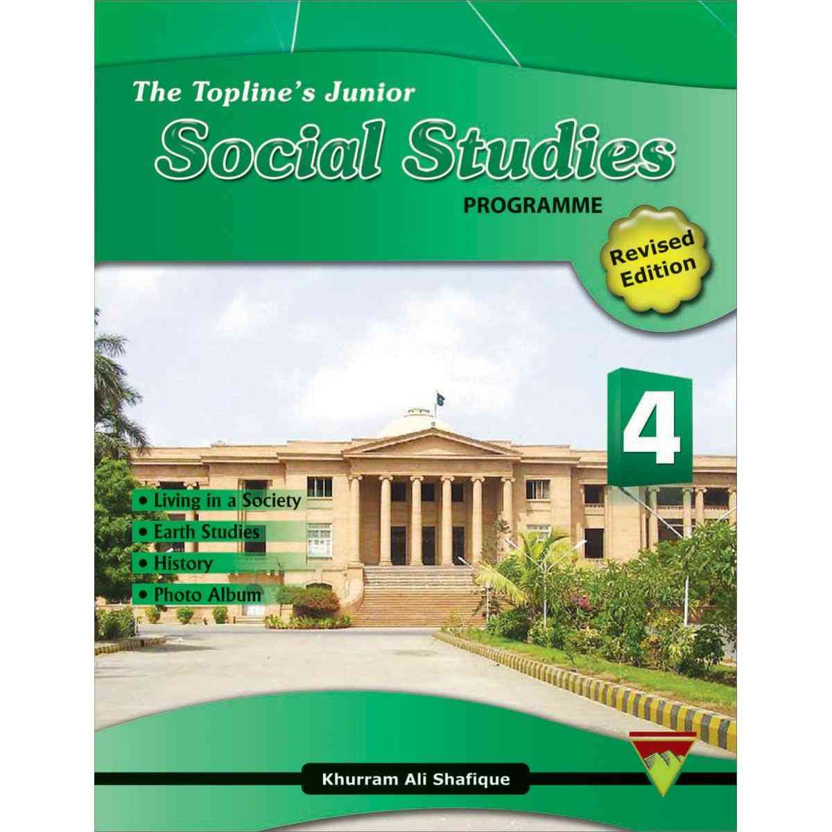 TOP LINE PUBLISHERS Junior Social Studies Book 4 Revised
