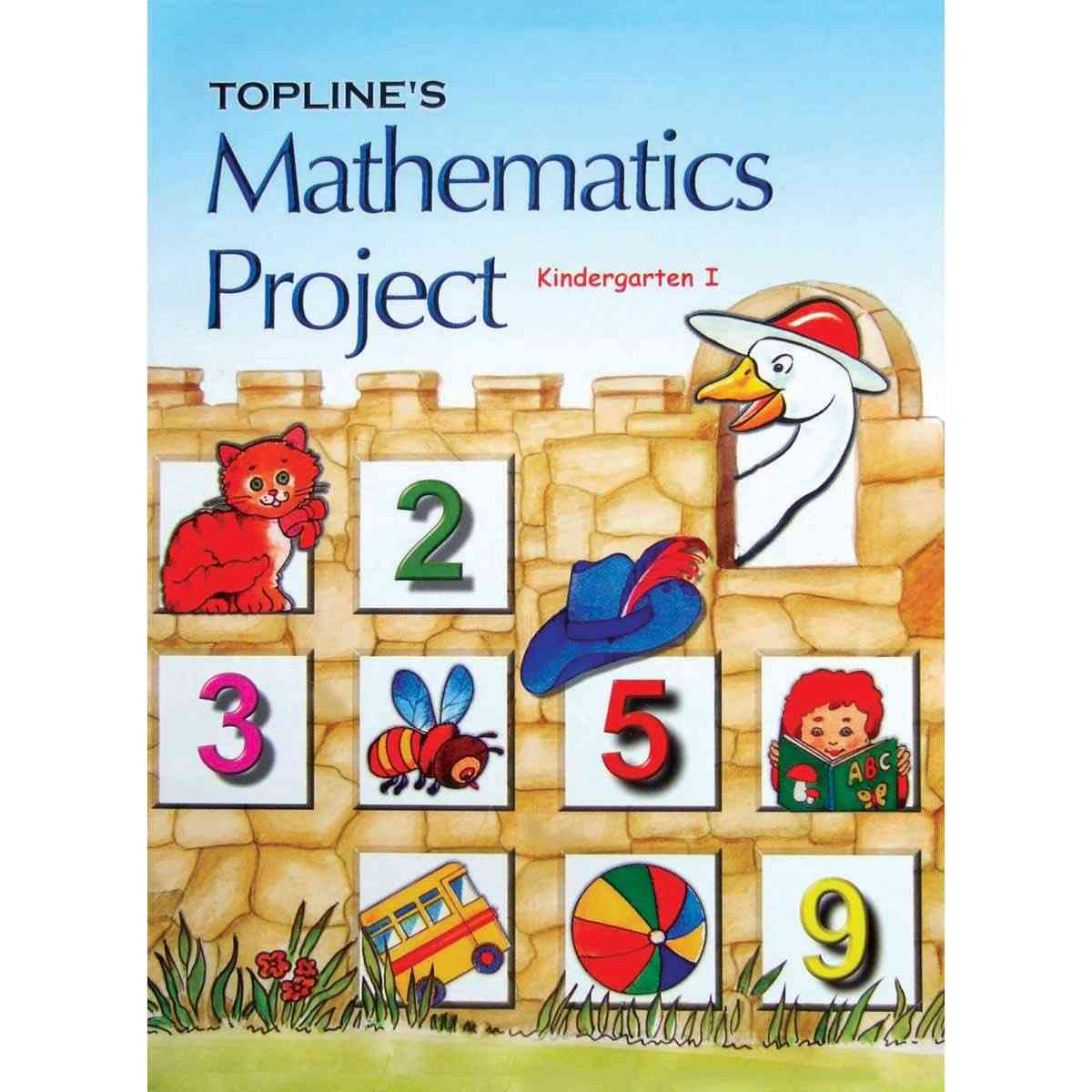 TOP LINE PUBLISHERS Maths Project KG 1 By Mdam Rubina Qureshi
