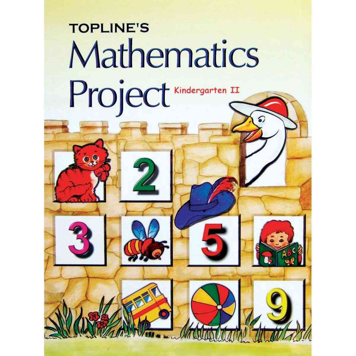 TOP LINE PUBLISHERS Maths Project KG 2