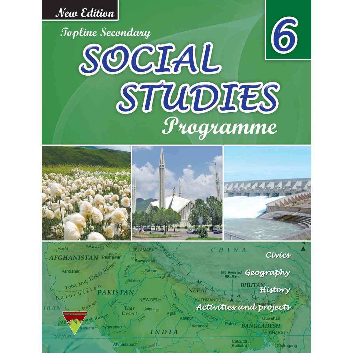 TOP LINE PUBLISHERS Senior Social Studies Book 6