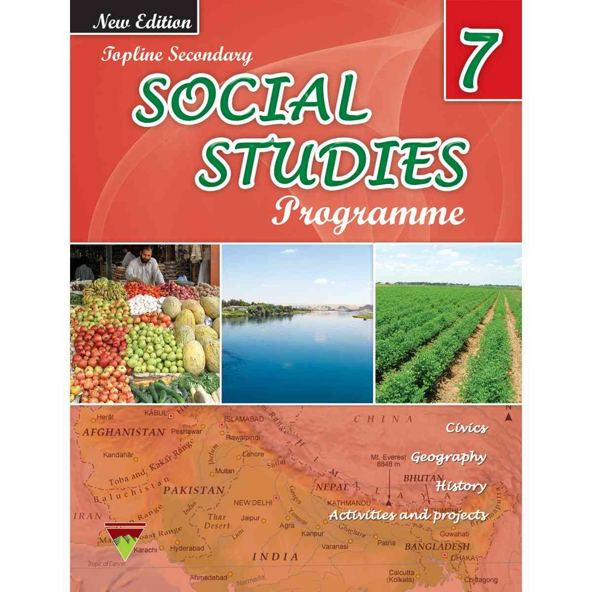 TOP LINE PUBLISHERS Senior Social Studies Book 7