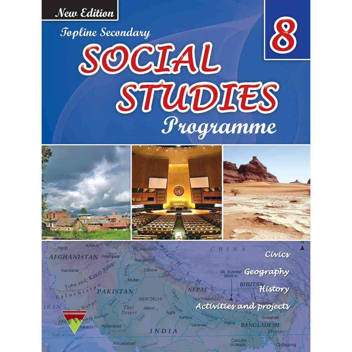 TOP LINE PUBLISHERS Senior Social Studies Book 8