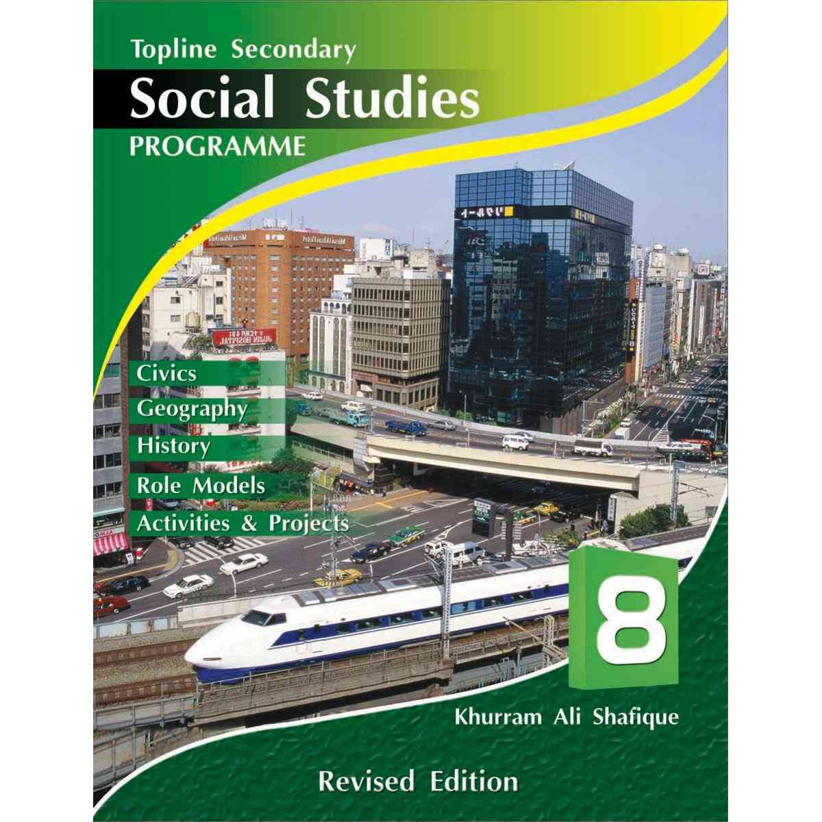 TOP LINE PUBLISHERS Senior Social Studies Book 8 Revised