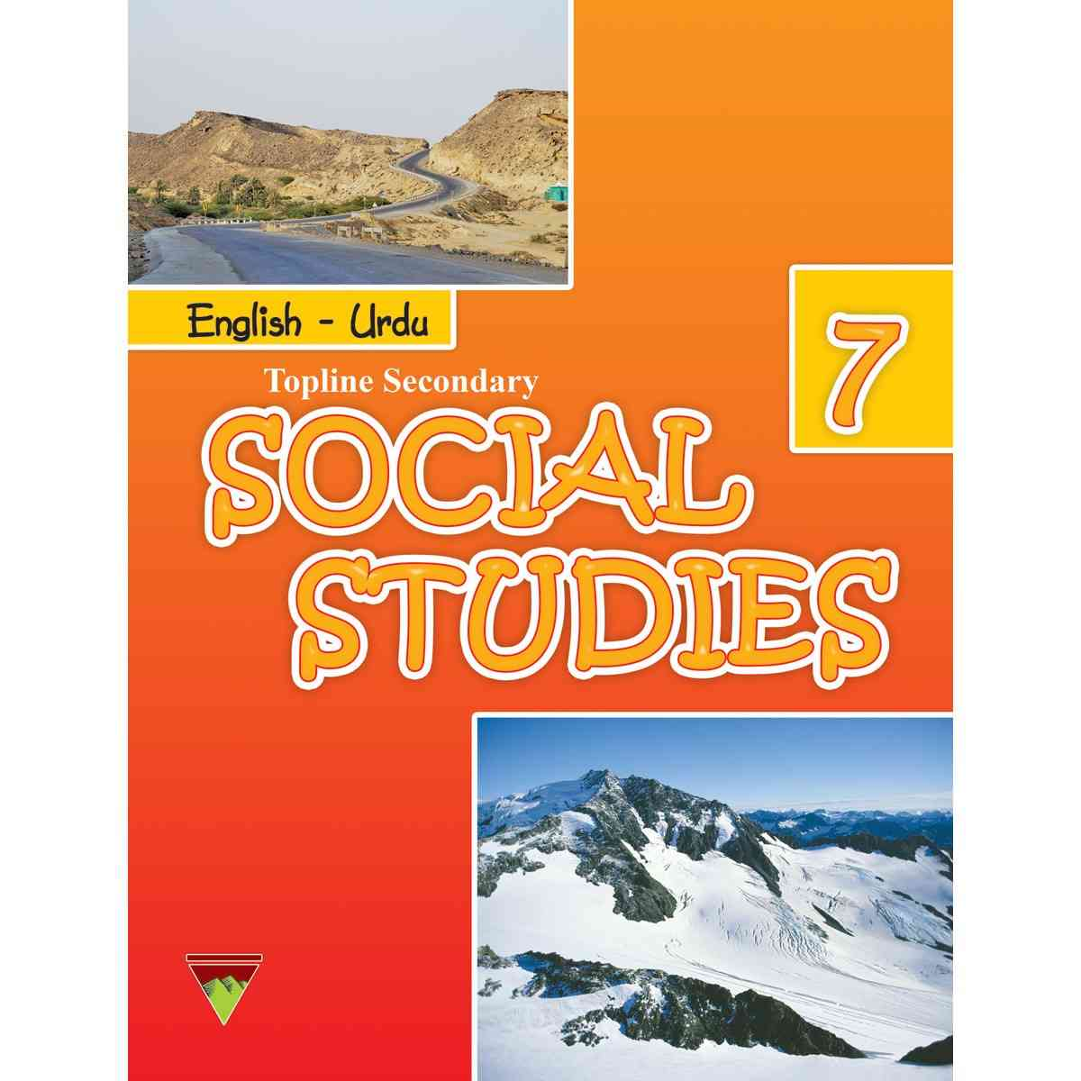 TOP LINE PUBLISHERS Social Studies Book 7 EngUrdu
