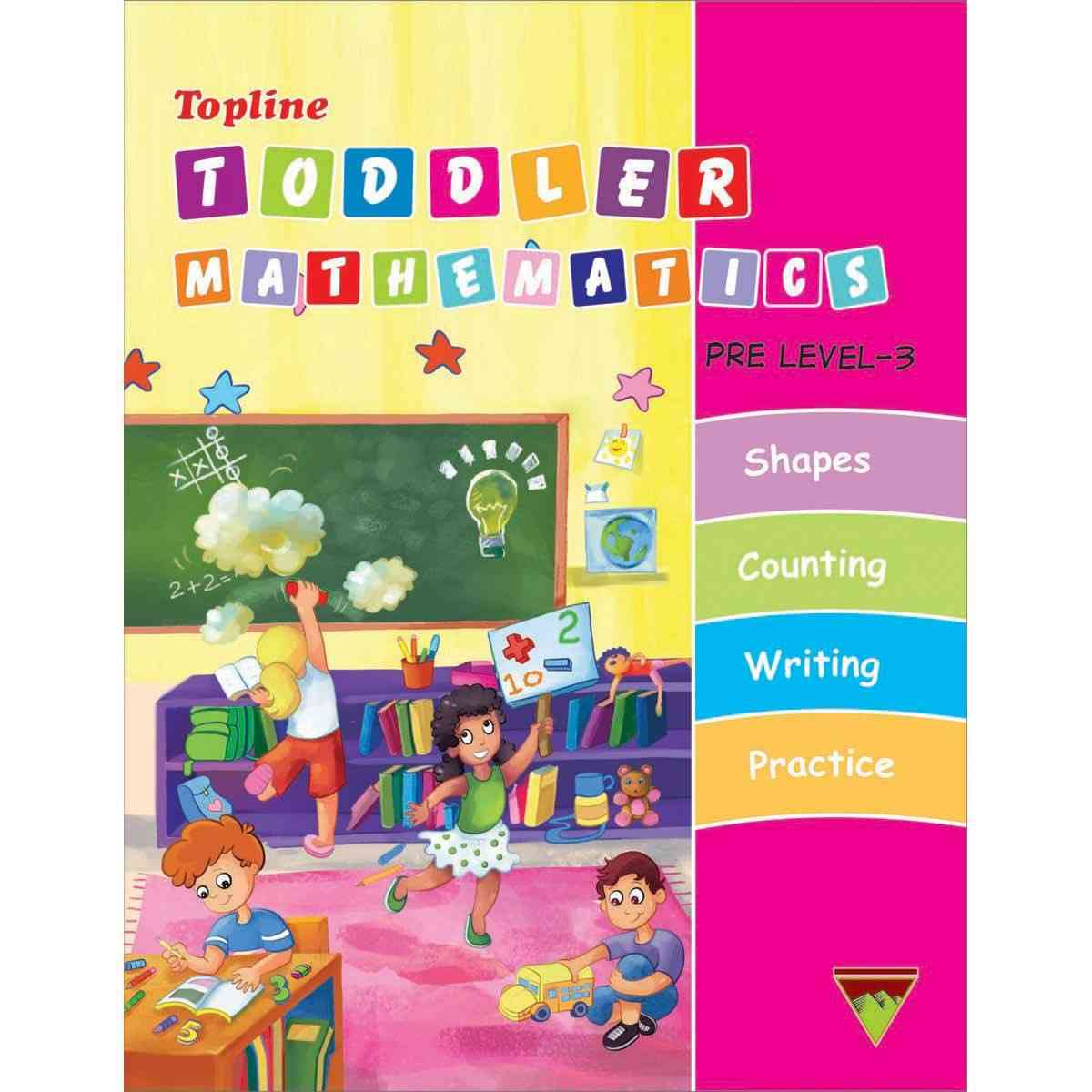 TOP LINE PUBLISHERS Topline Toddler Mathematics Level 3