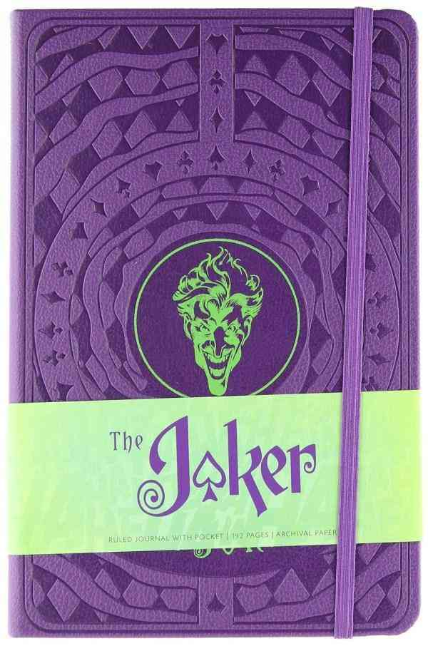 The Joker Hardcover Ruled Journal : Insights Journals