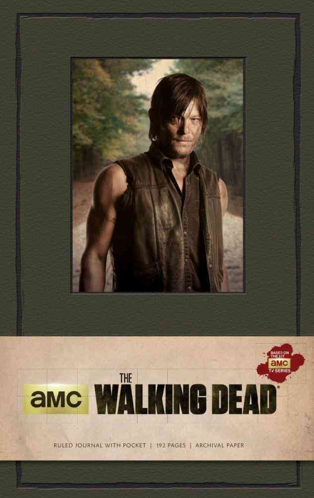 The Walking Dead : Daryl Dixon Hardcover Ruled Journal