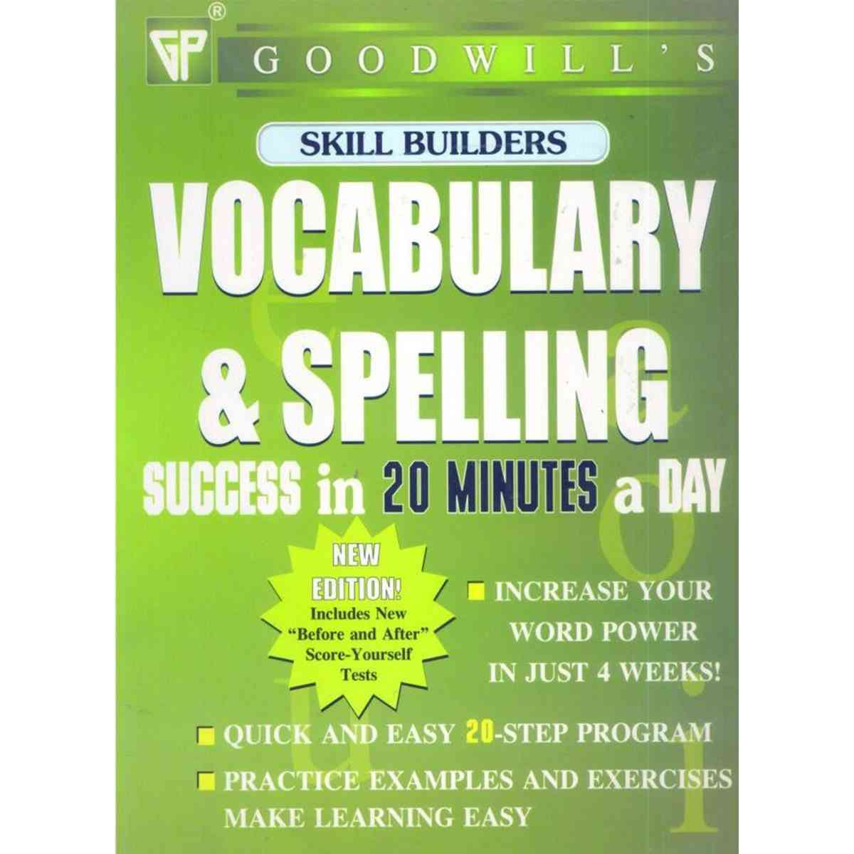 Vocabulary and Spelling Success In 20 Min. A Day