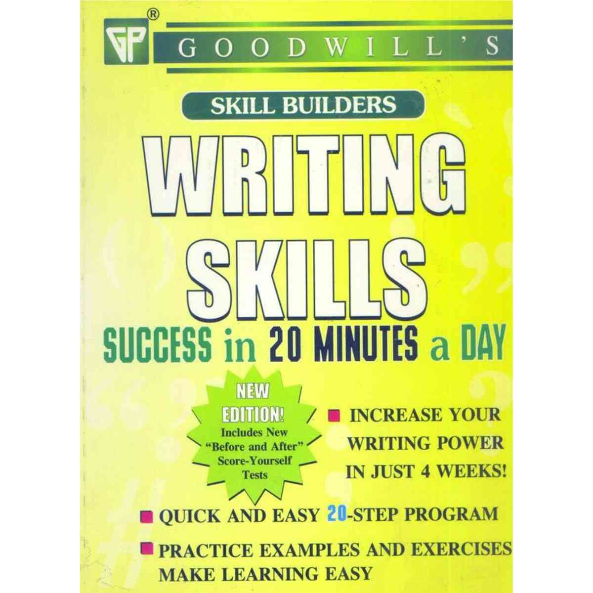 Writing Skills Success In 20 Min. A Day