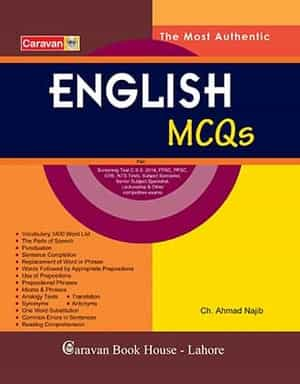 English MCQs For Scr