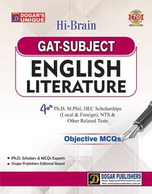 GAT ENGLISH LITERATURE By Dogars
