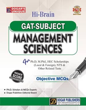 GAT MANAGEMENT SCIENCES By Dogars