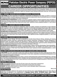 PEPCO Jobs 11 May 2021 Pakistan Electric Power Company