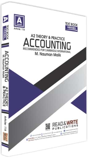 Accounting A2 Level Text Book Series Theory and Practice