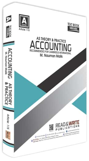 Accounting AS Level Text Book Series Theory and Practice Past Paper