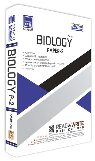 Biology IGCSE Paper 2 Topical Past Papers