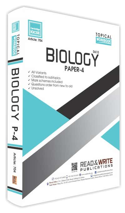 Biology IGCSE Paper 4 Topical Workbook