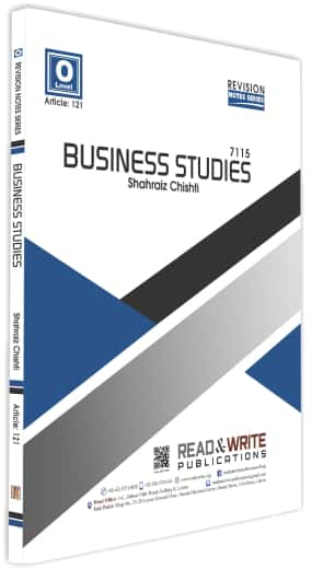 Business Studies O Level Teacher Notes Series