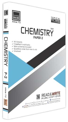 Chemistry IGCSE Paper 2 Topical Past Papers