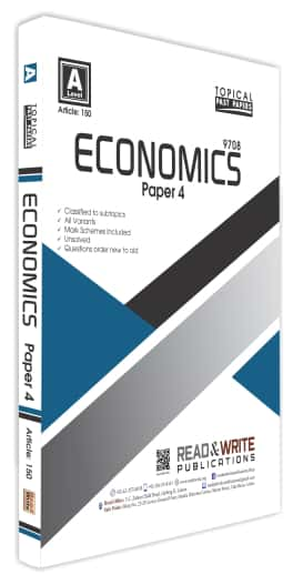 Economics A Level Paper 4 Topical Past Papers Past Paper