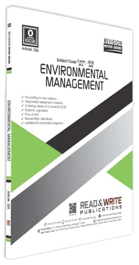 Environmental Management O Levels Revision Notes Series