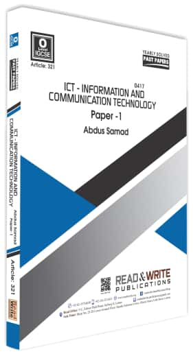 IGCSE ICT Paper 1 Yearly Solved Past Papers Past Paper