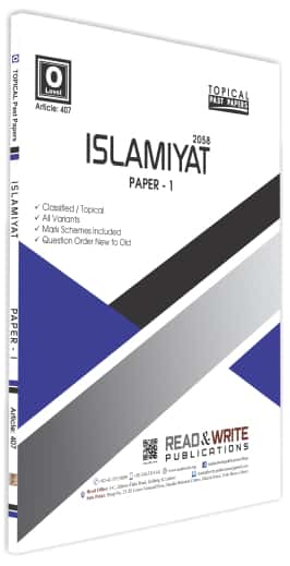 Islamiyat O Levels Paper 1 Topical Past Papers