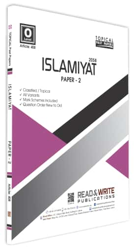 Islamiyat O Levels Paper 2 Topical Past Papers
