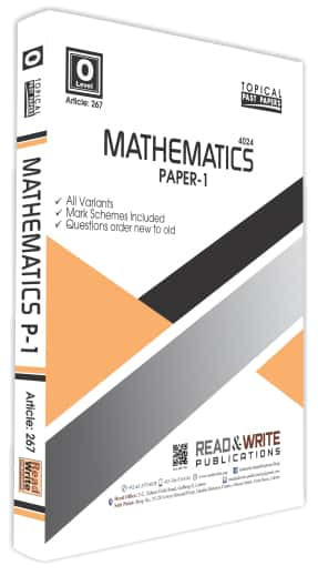 Mathematics O Level Paper 1 Topical Past Paper