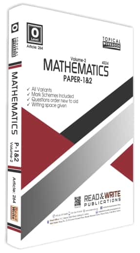 Mathematics O Level Volume 2 Paper 1 and 2 Topical Workbook