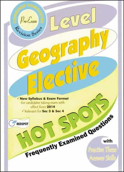O Level Geography Elective Hot Spots Past Paper