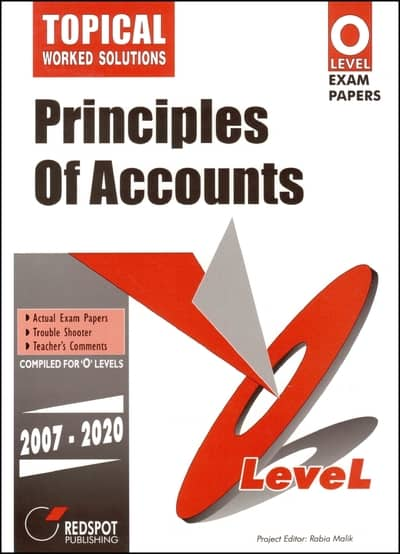 O Level Principles Of Accounts Topical