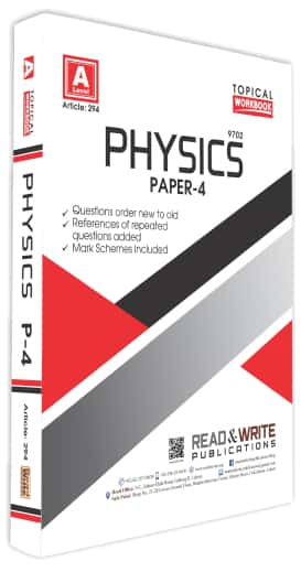 Physics A Levels Paper 4 Topical Workbook Past Paper