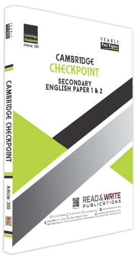 Secondary English Paper 1 and 2 Yearly Past Papers