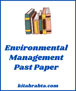 Environmental Management IGCSE Past Papers