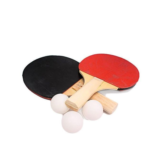 TABLE TENNIS RACKETS WITH BALLS